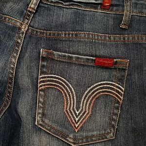 7 FAM Straight leg jeans